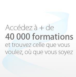 accédez à plus de 40 000 formations
